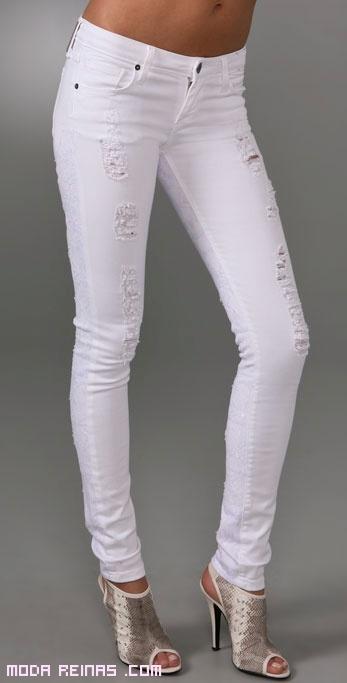 jeans rotos de moda