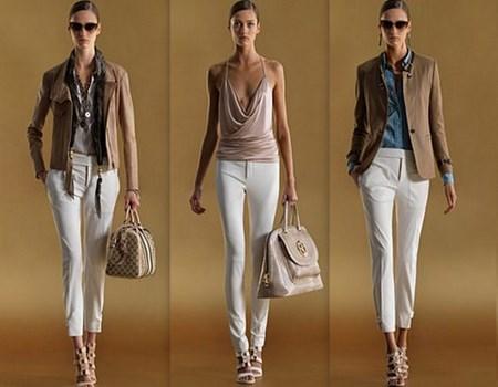 combinar pantalones blancos