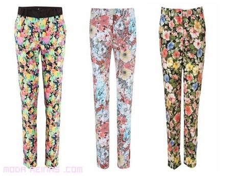 Pantalones de colores 2012