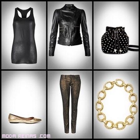 moda en color negro