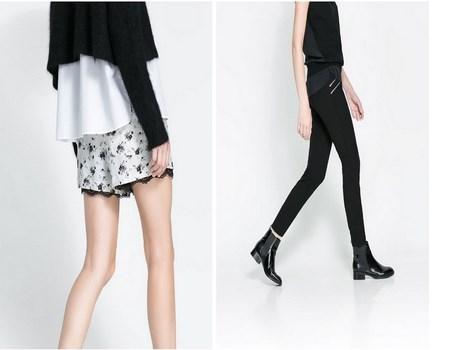 Shorts de moda para invierno