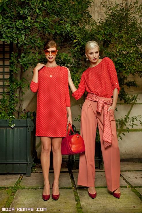 vestidos estampados estilo vintage