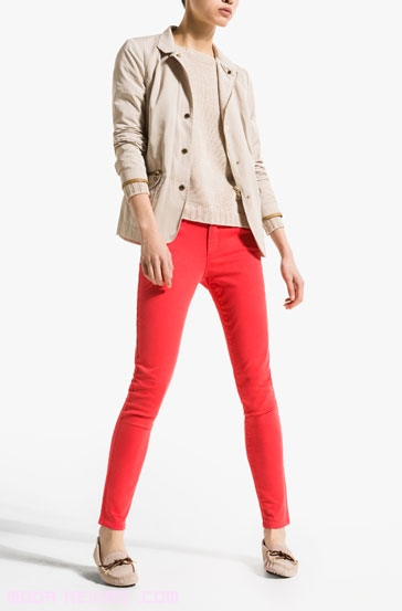 Pantalones y chaqueta para verano