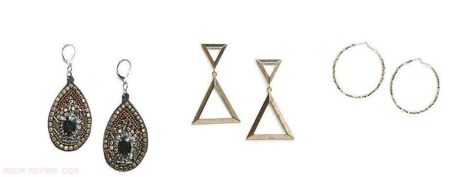 pendientes  geométricos de moda