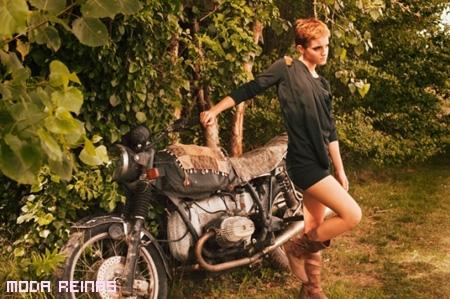 People-Tree-2011-por-Emma-Watson