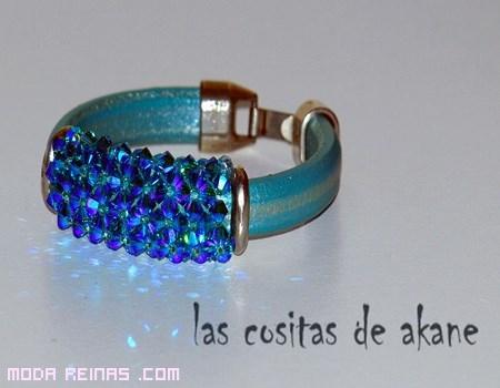 pulseras de color azul
