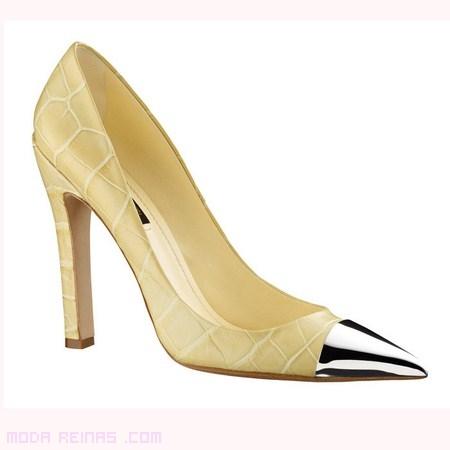 Zapatos estampado pitón