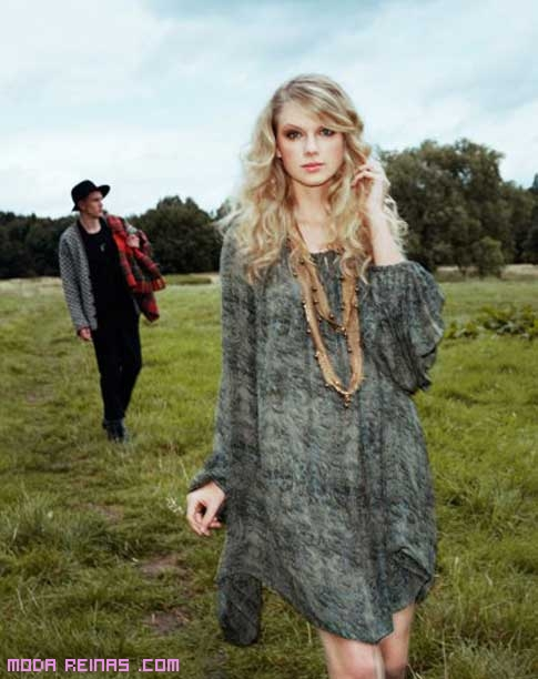 Vestido bucólico Taylor Swift