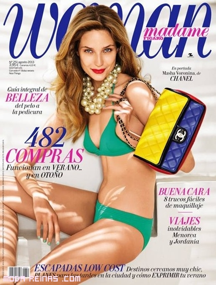 portada de revista woman