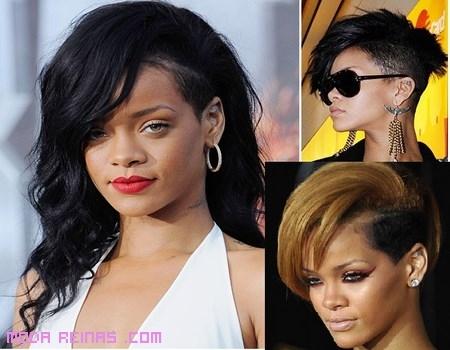 Cambios de look de Rihanna