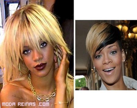 Cambios de look de famosas