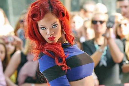 Peinado de Rihanna