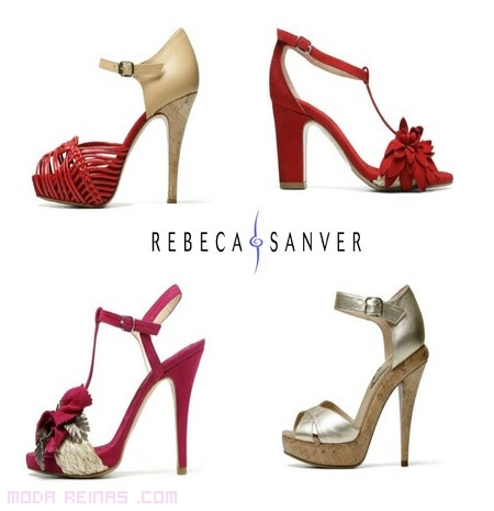Rebeca Reinas Sanver Qxuzngu81 Exclusivos Zapatos Moda kZiXPu
