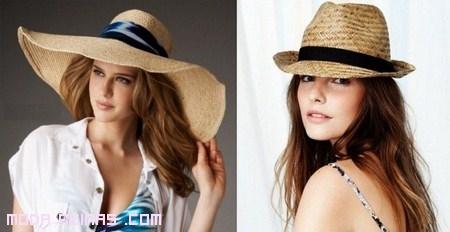 tendencia en sombreros primavera 2012