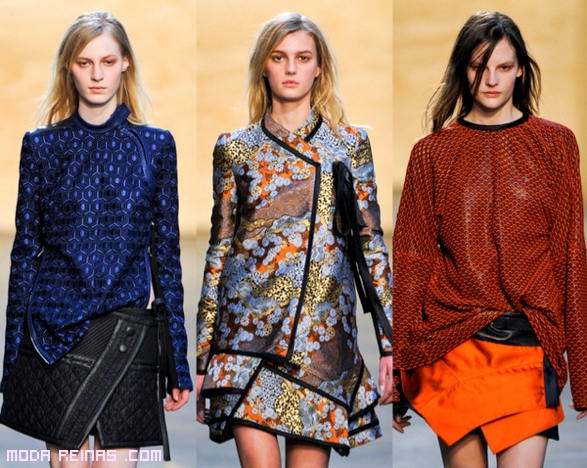 blusas estampadas a la moda
