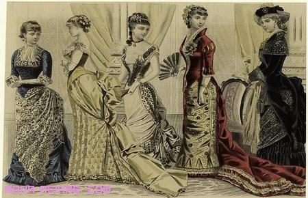 vestidos de las damas famosas