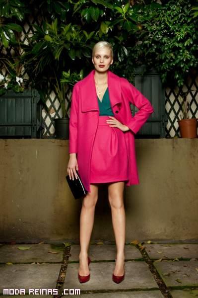 chaquetas de cuero rosa