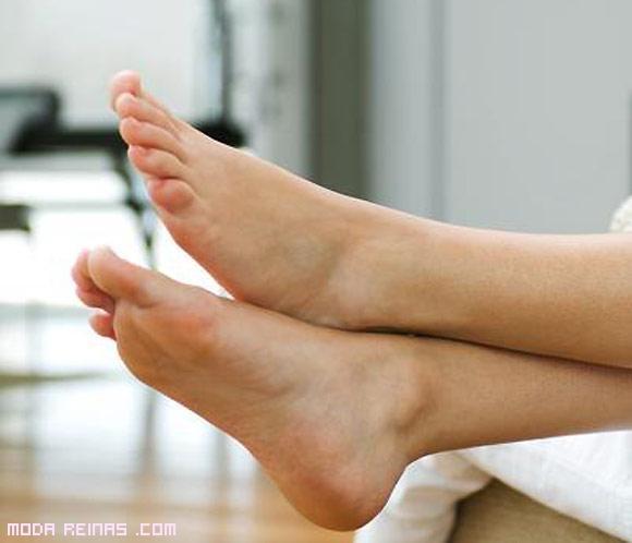 trucos para los pies hinchados