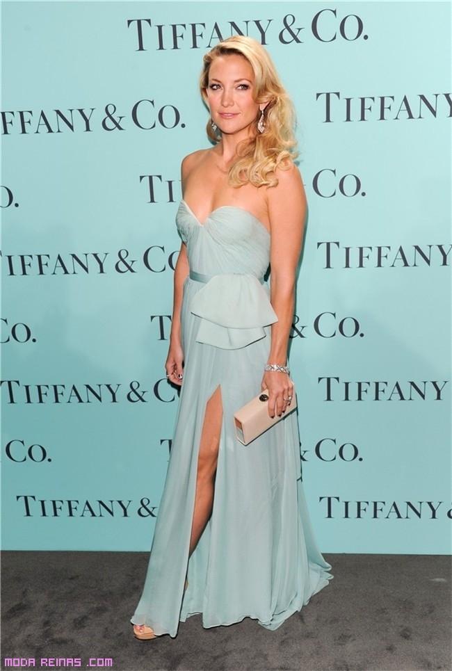Kate Hudson con vestido de fiesta