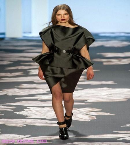 vestidos peplum