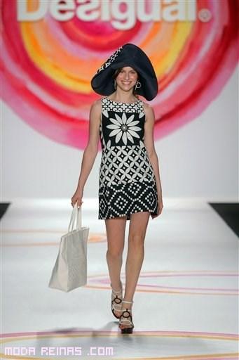 vestidos cortos bicolor