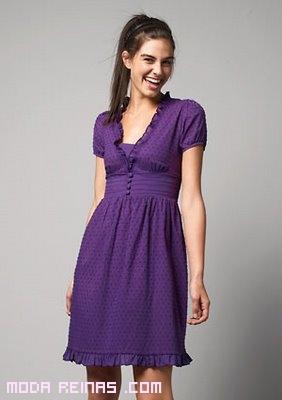 vestidos cortos para primavera