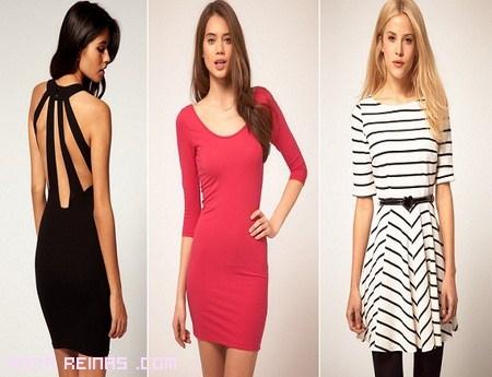 Vestidos de moda en colores