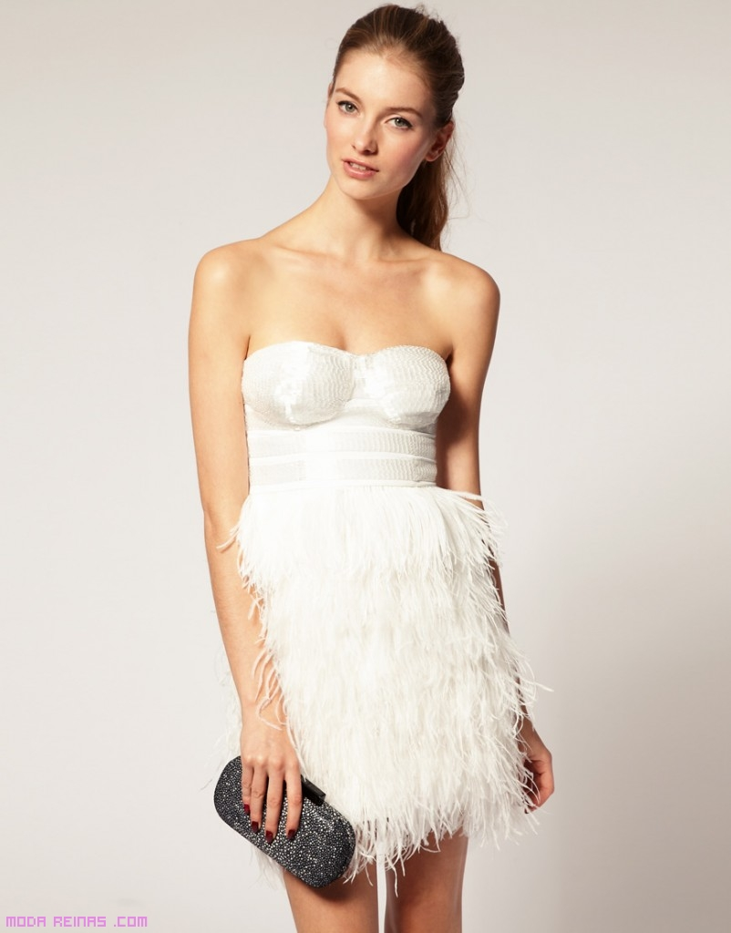 Vestidos de tendencia en blanco