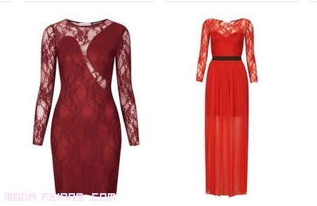 vestidos con encaje elegantes