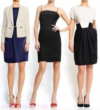 vestidos cortos para citas semi-formales