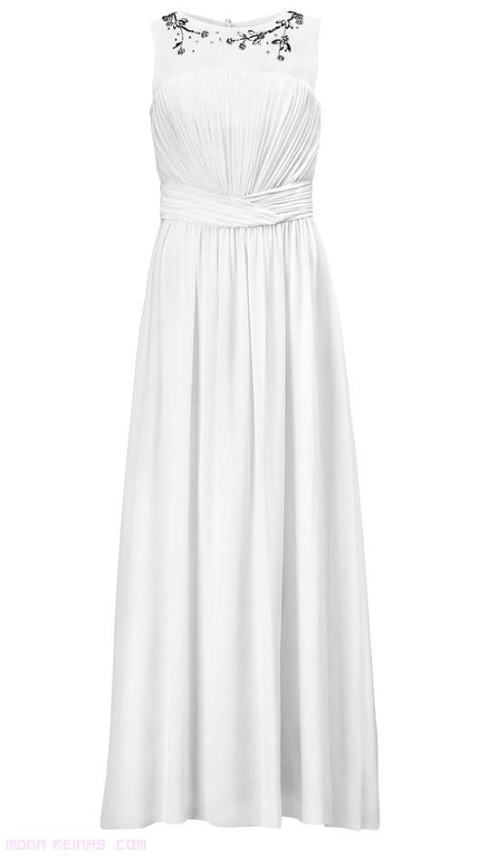 Vestidos de novia con detalles en escote
