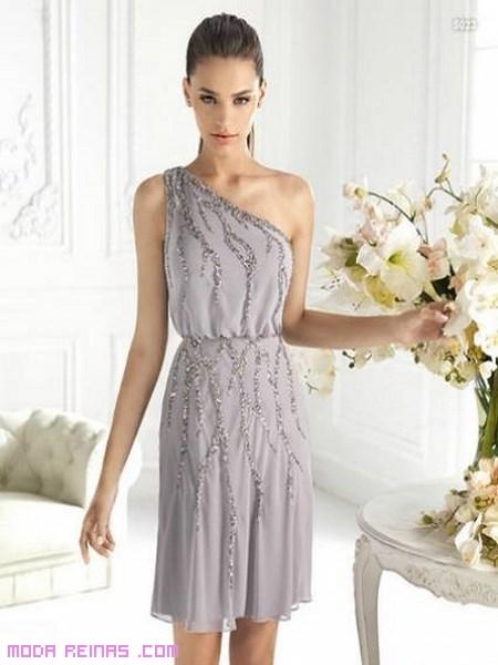 vestidos de gasa elegantes