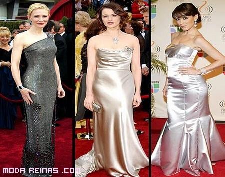 vestidos de gala brillates