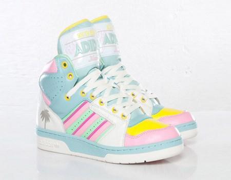 zapatillas de moda en tonos pastel
