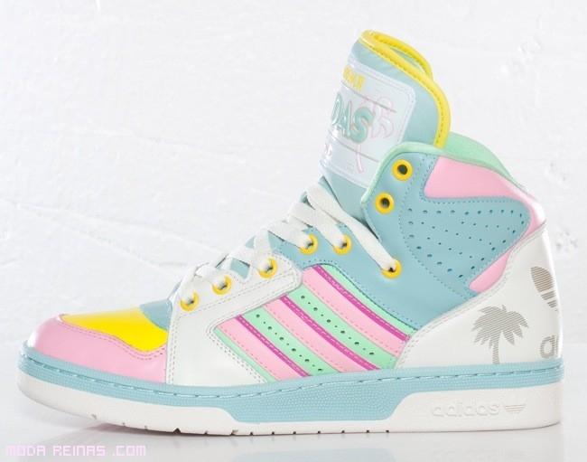 zapatillas juveniles de colores