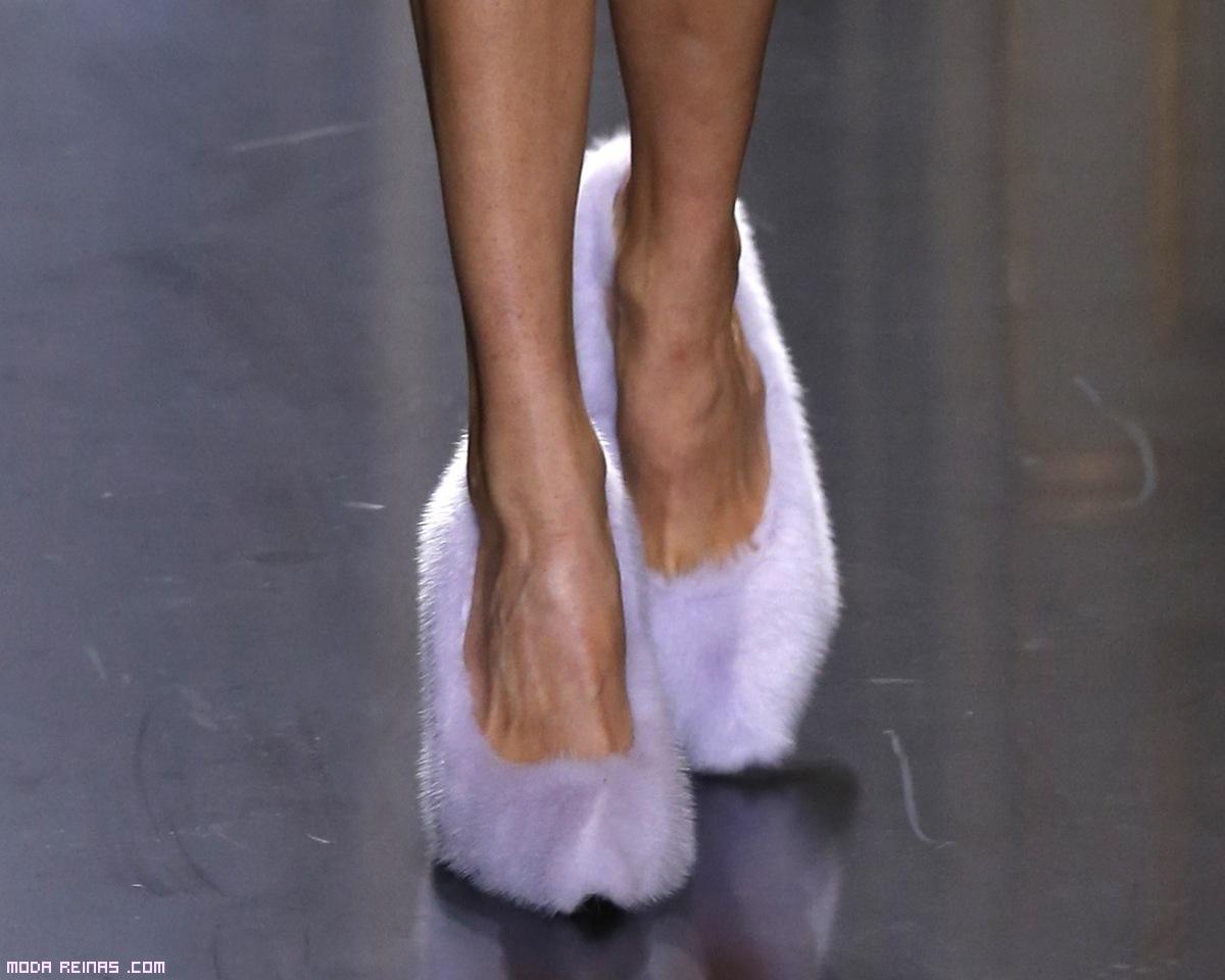 zapatos originales de desfiles