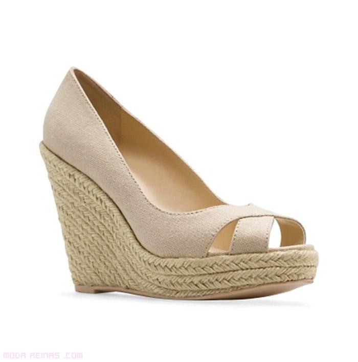 zapatos corte salón esparto