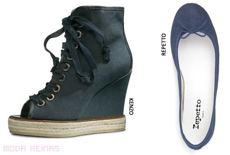 Zapatos-de-denim-Kenzo-Repetto