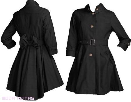 Abrigo corto capa