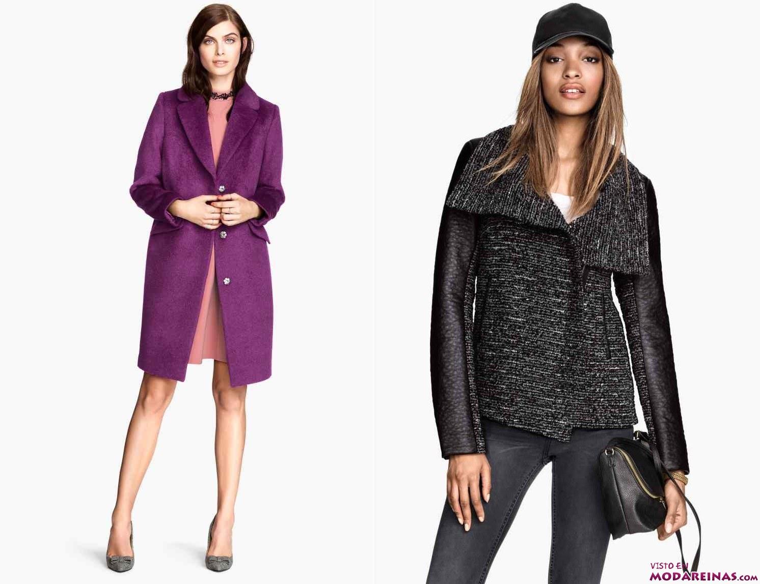 abrigos y cazadoras H&M