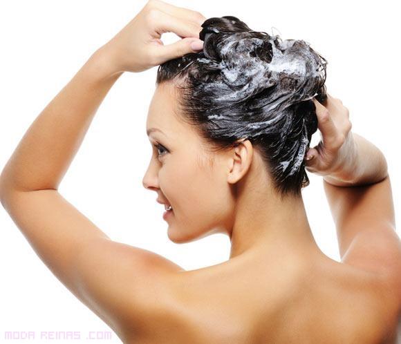 cabello sano con mascarilla