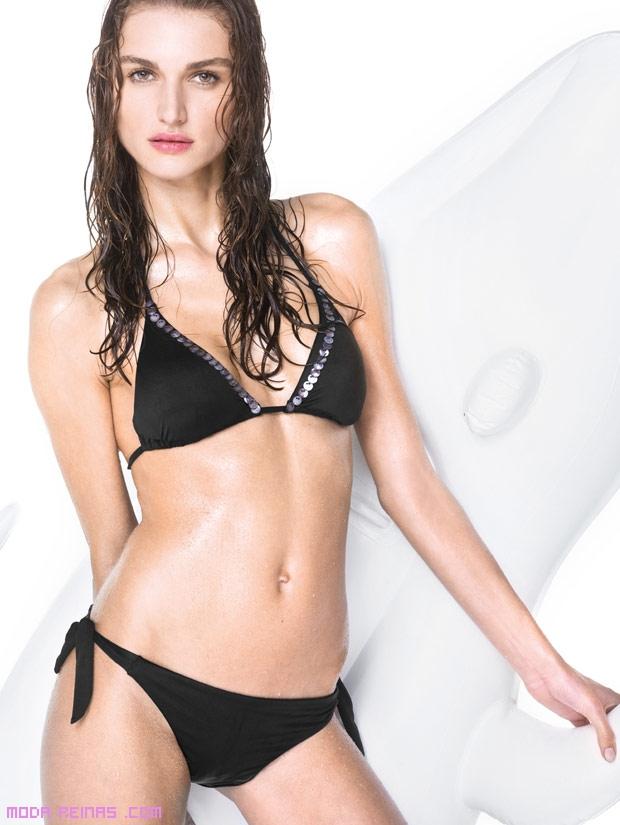 Bikinis con lentejuelas