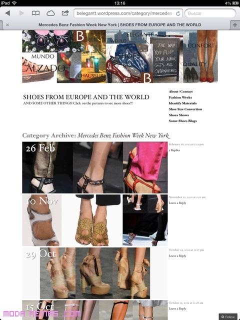Zapatos de lujo para el verano 2013