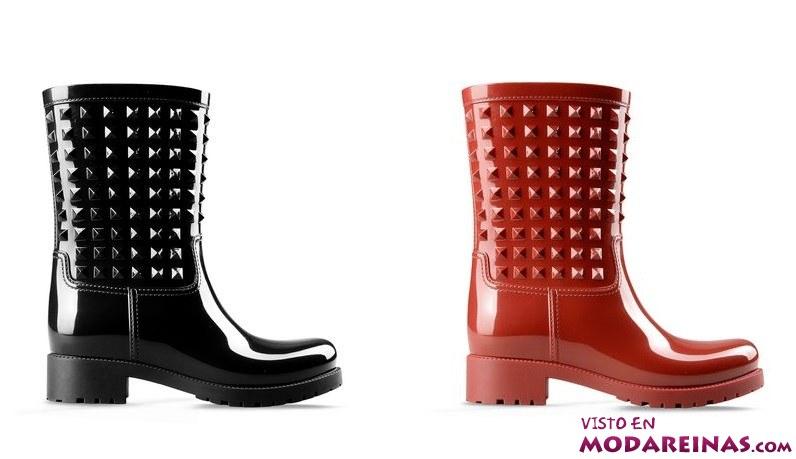 botas de agua Valentino