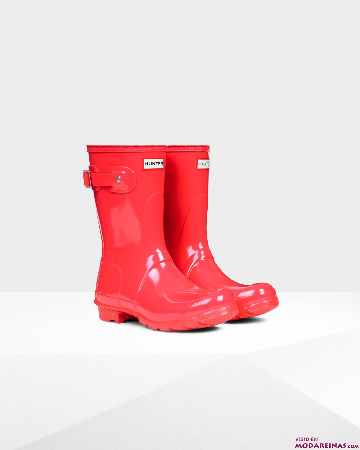 botas Hunter en color rojo