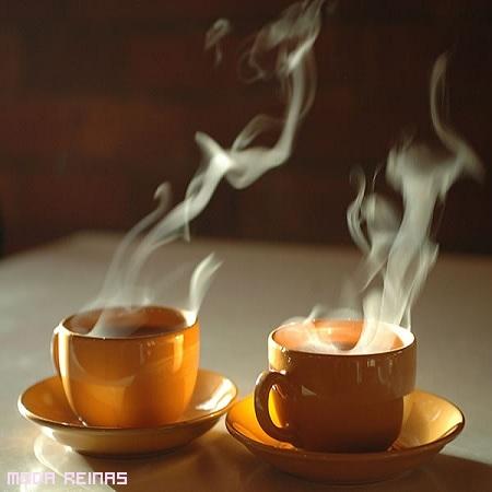 café delicioso para compartir