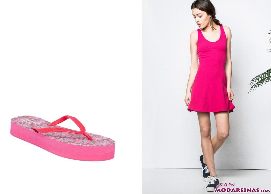 calzado y vestidos de verano en springfield