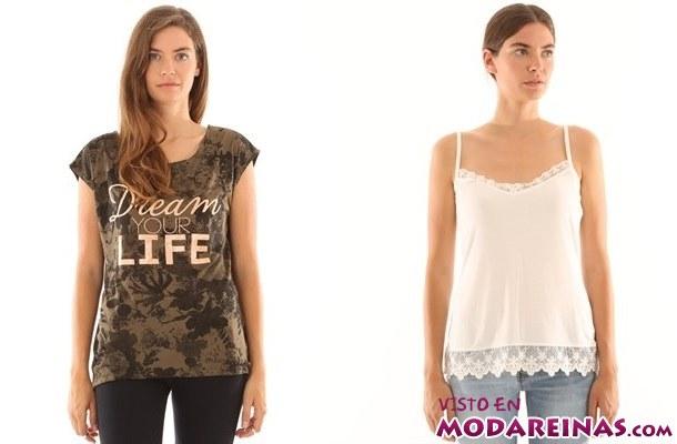 camisetas básicas Pimkie