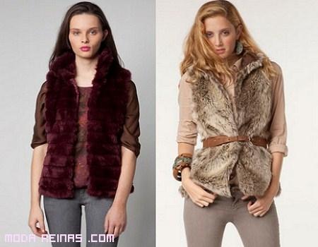 chalecos de stradivarius a la moda 2012