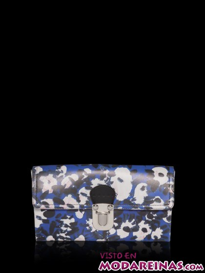 clutch estampado de moda